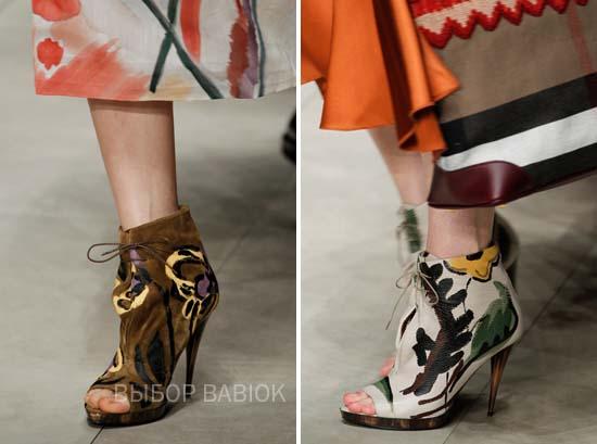 Гламурная обувь 2015 года