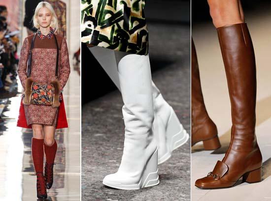 Модные сапоги осень зима 2014 2015 фото